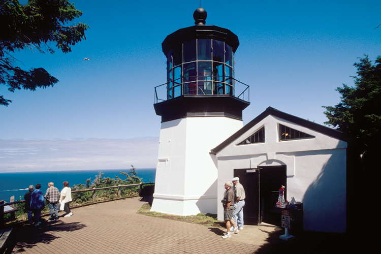 Cape Meares State Scenic Viewpoint and Lighthouse