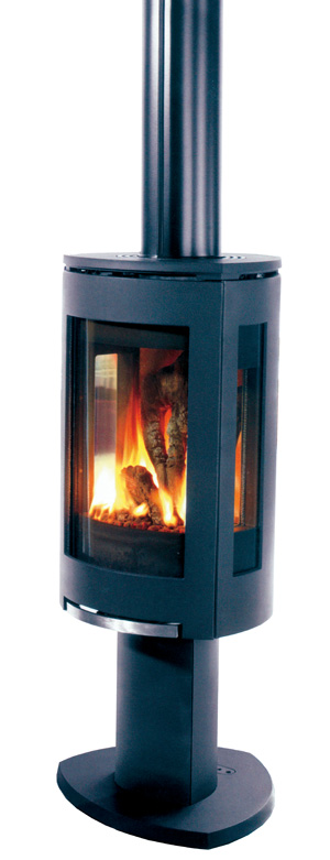 jotul convex triangle freestanding gas stove