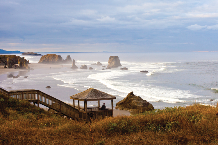 Coquille Point In Bandon Oregon