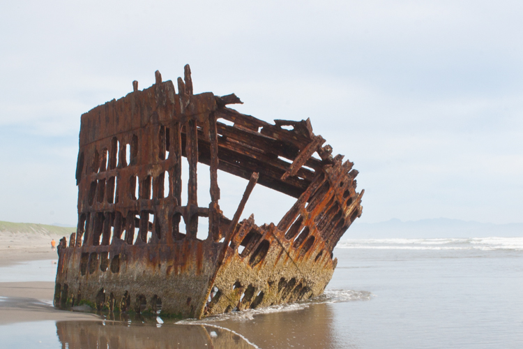 Peter Iredale Shipwreck, Fort Stevens State Park