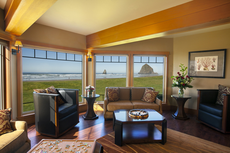 Overleaf Lodge & Spa in Yachats