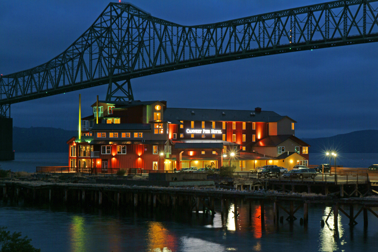 Cannery Pier Hotel & Spa in Astoria, Oregon