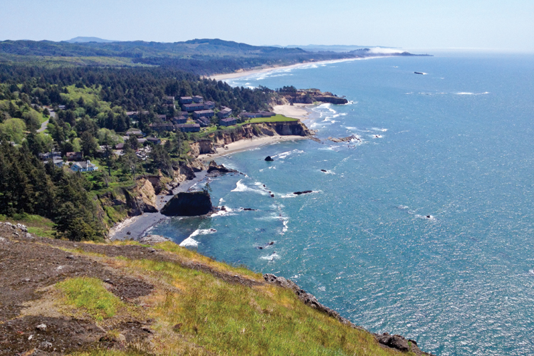 View from Otter Crest Scenic Viewpoint