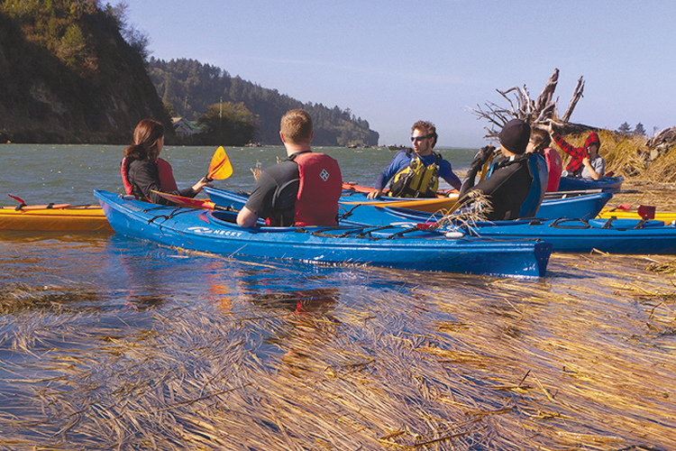 Paddling the Tillamook County Water Trail