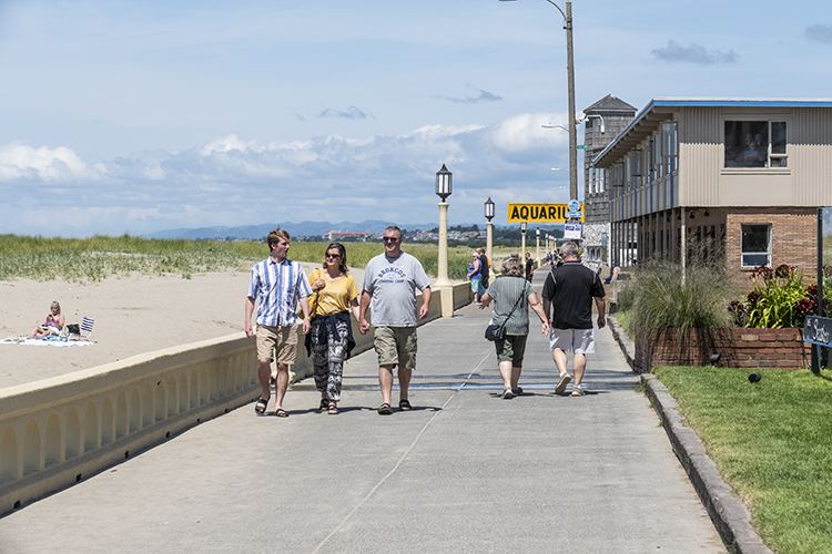 Seaside's 1.5 mile oceanfront promenade has a history dating back to 1908 when it was originally built as a wooden boardwalk.