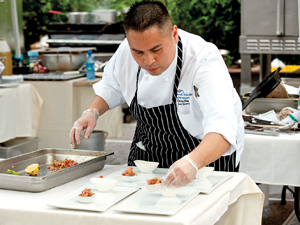 Chef Jack Strong Wins Cook-off in American Indian Chef Competition