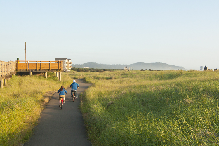Long Beach, Washington is home to the 8.5 mile Discovery Trail.