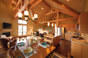 The Lodges offer comfortable and spacious living to help make the most of your vacation time.