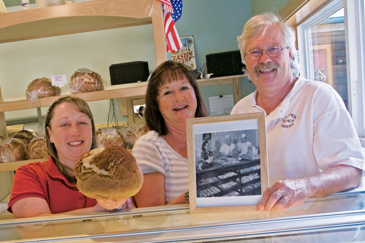 Dan Christensen, along with his with wife Robin and daughter Shannon work to keep family traditions alive at Cannon Beach Bakery.