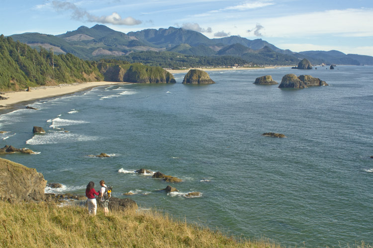 Ecola State Park offers perfect vantage points for whale watching, bird watching and wildlife spotting.