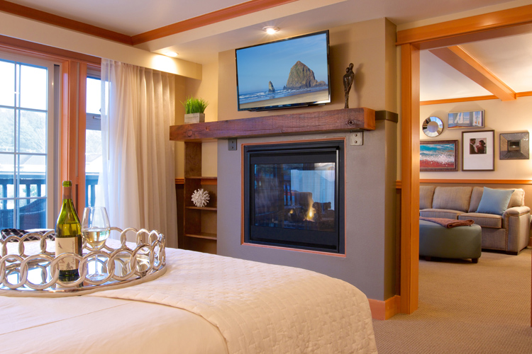 Suite accommodations at Stephanie Inn