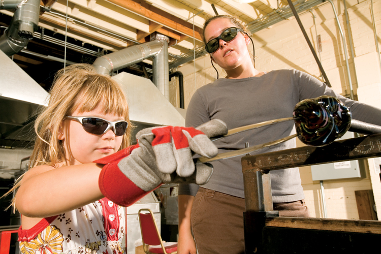 Experience Glassblowing in Lincoln City