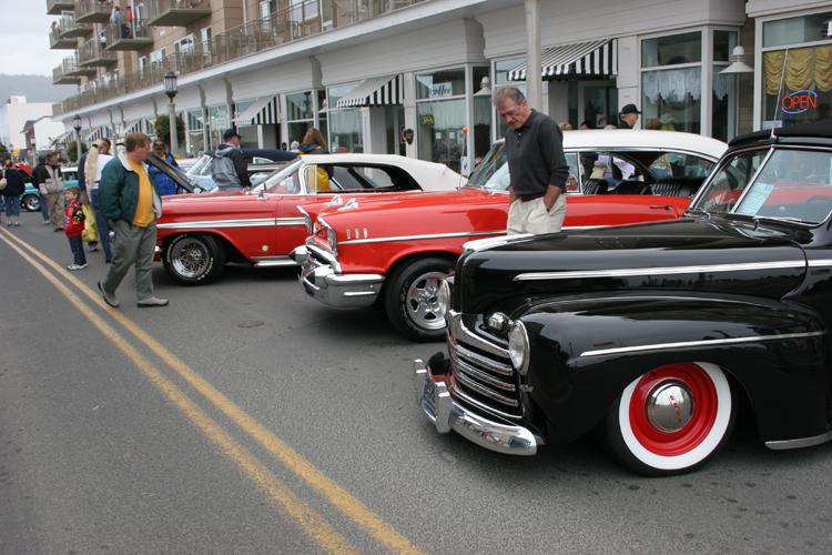 Seaside Oregon Wheels Waves Car Show - Seaside oregon car show