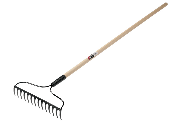 Garden rake and shovel on sale at astoria builders supply for Gardening tools with meaning