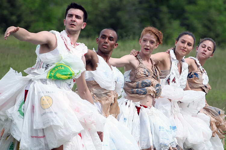 New York's Artichoke Dance Company is known for innovative and engaging performances paired with environmental activism and education.