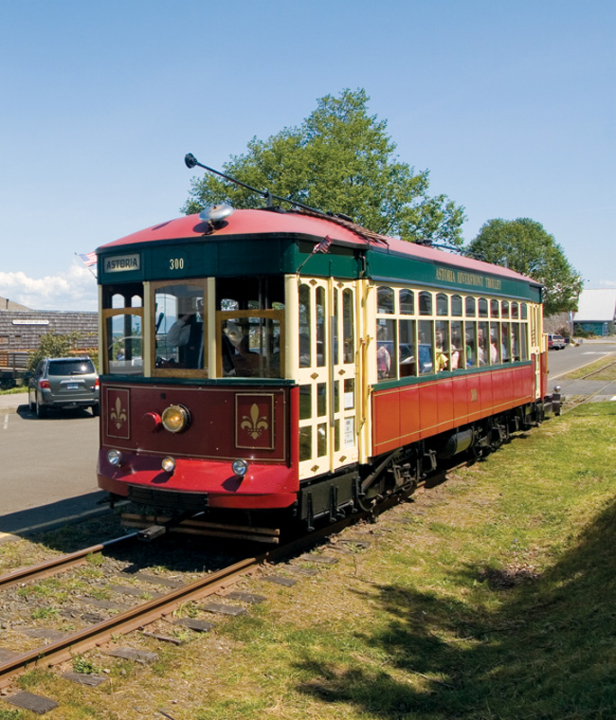 Astoria's Riverfront trolley