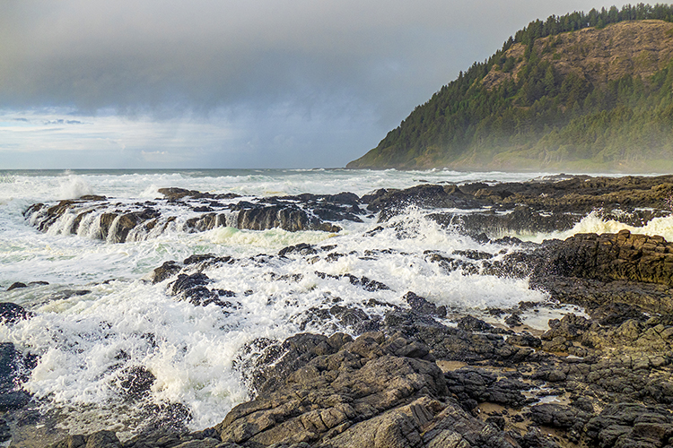 The Cape Perpetua Scenic Area packs a big bang for the buck, making it a don't-miss stop on a day trip south of Lincoln City.