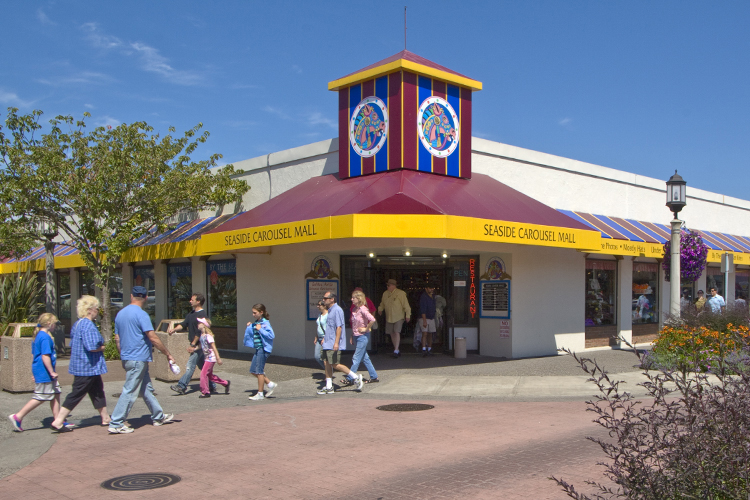 Seaside's Carousel Mall