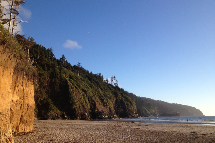 Cape Lookout is a 2000-acre park with over eight miles of hiking trails and beaches.